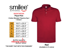 Load image into Gallery viewer, BASIC PIQUE POLO (RED)