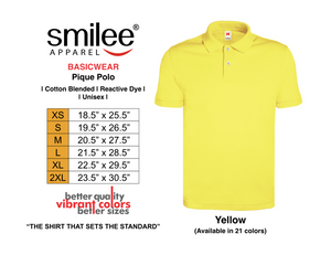 BASIC PIQUE POLO (YELLOW)