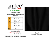Load image into Gallery viewer, FLEECE HOODIE (BLACK)