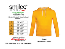 Load image into Gallery viewer, FLEECE HOODIE (GOLD)