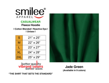 Load image into Gallery viewer, FLEECE HOODIE (JADE GREEN)