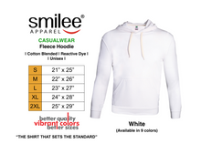 Load image into Gallery viewer, FLEECE HOODIE (WHITE)