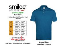 Load image into Gallery viewer, TUCK POLO (AQUA BLUE)
