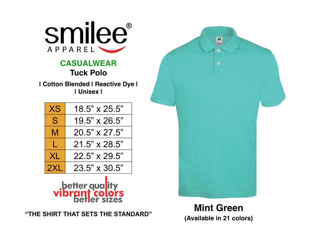 TUCK POLO (MINT GREEN)