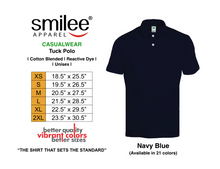 Load image into Gallery viewer, TUCK POLO (NAVY BLUE)