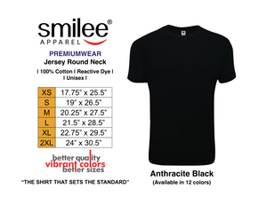 PREMIUM JERSEY ROUND NECK (ANTHRACITE BLACK)