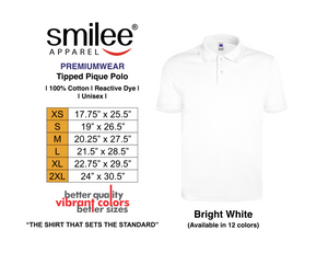 PREMIUM TIPPED PIQUE POLO (BRIGHT WHITE)