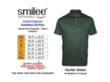 Load image into Gallery viewer, COOLPASS CD POLO (HUNTER GREEN)