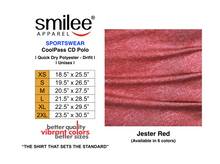Load image into Gallery viewer, COOLPASS CD POLO (JESTER RED)