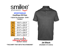 Load image into Gallery viewer, COOLPASS CD POLO (JET BLACK)