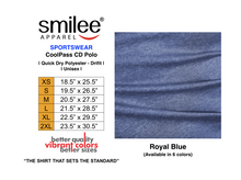 Load image into Gallery viewer, COOLPASS CD POLO (ROYAL BLUE)