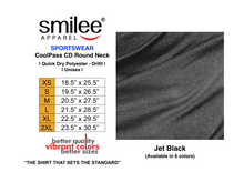 Load image into Gallery viewer, COOLPASS CD ROUND NECK (JET BLACK)