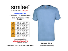 Load image into Gallery viewer, COOLPASS CD ROUND NECK (OCEAN BLUE)