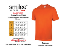 Load image into Gallery viewer, BASIC JERSEY ROUND NECK (ORANGE)