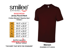 Load image into Gallery viewer, BASIC JERSEY ROUND NECK (MAROON)