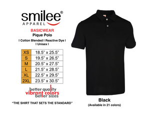 BASIC PIQUE POLO (BLACK)