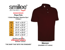 Load image into Gallery viewer, BASIC PIQUE POLO (MAROON)
