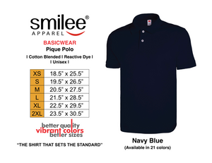BASIC PIQUE POLO (NAVY BLUE)