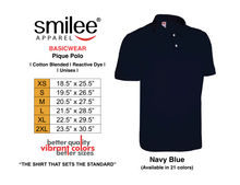 Load image into Gallery viewer, BASIC PIQUE POLO (NAVY BLUE)