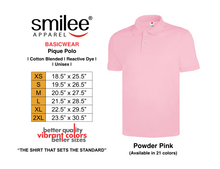 Load image into Gallery viewer, BASIC PIQUE POLO (POWDER PINK)