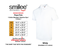 Load image into Gallery viewer, BASIC PIQUE POLO (WHITE)