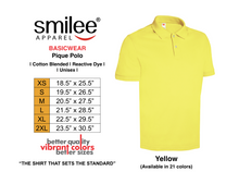 Load image into Gallery viewer, BASIC PIQUE POLO (YELLOW)