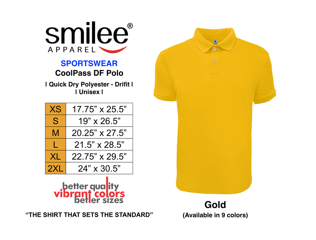 COOLPASS DF POLO (GOLD)