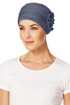 Turbante Lotus - Blu Opaco