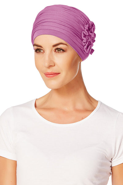 Turbante Lotus - Fucsia