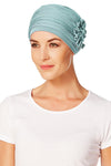 Turbante Lotus - Verde Acqua
