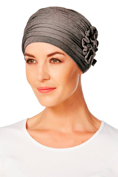 Lotus - Turban in bamboo viscose Solid Color 1003-xxxx
