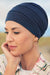 Bea - Turbante in Tessuto 37,5 Technology - Colore Blu Scuro 1241-0383