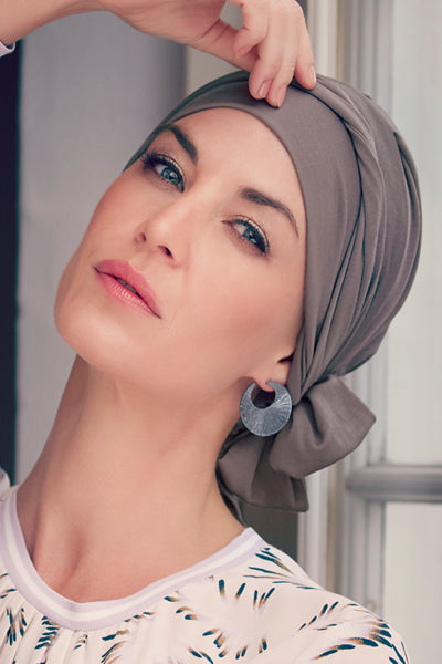 Beatriz - Turbante en Tessuto 37,5 Tecnología - Color Beige 1291-0318
