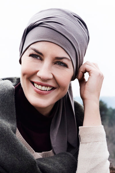 Beatrice - Turbante in Tessuto 37,5 Technology - Colore Beige 1291-0318