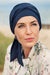 Beatrice - Turbante in Tessuto 37,5 Technology - Colore Blu Scuro 1291-0383