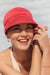 Beautiful - Hat in Fabric With 37.5 Technology - Coral Color 1328-0244
