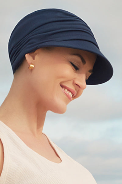 Beautiful - Hat in Fabric With 37.5 Technology - Blue Color 1328-0383