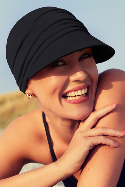 Beautiful - Hat in Fabric With 37.5 Technology - Black Color-1328-0590