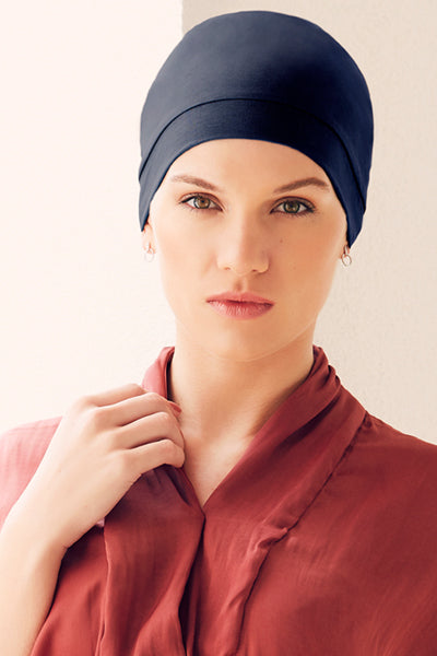 Laura - Cap/Turban in cotton/viscose 1356-xxxx