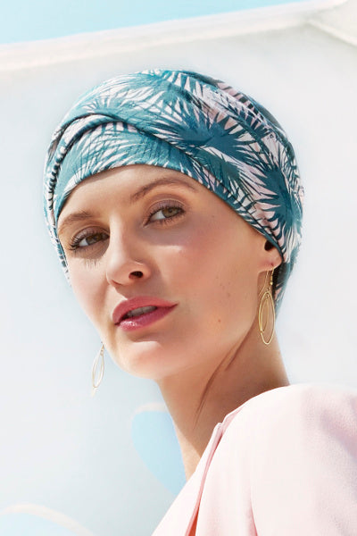 The Emmy - Turban with  Headband-cotton/polyester - fantasy 1443-0621