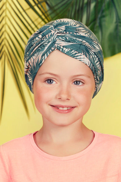 Petite Swam - headband - palm leaves pattern 1447-0630
