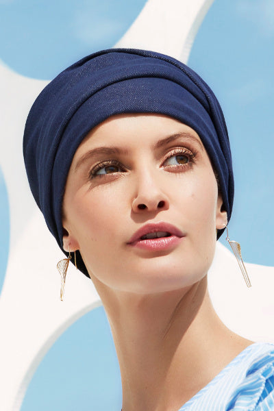The Emmy - Turban with a Headband-cotton/polyester - fantasy 1443-0621
