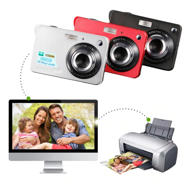 HD Digital Camera Anti-Shake Camcorder Video CMOS Micro Camera Children Gift