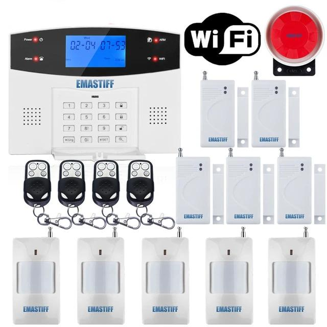 APP Wired Wireless Alarm Security