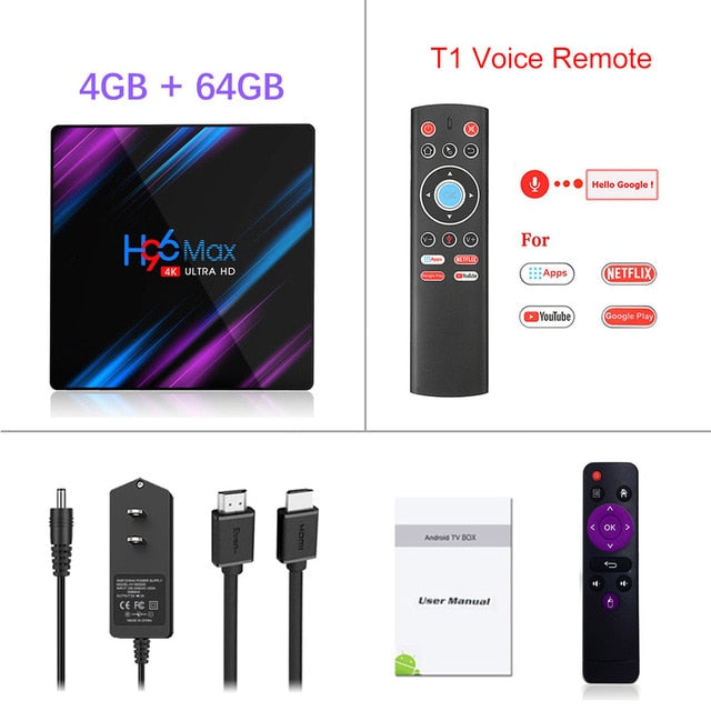 Smart TV Box Android 9.0 64GB