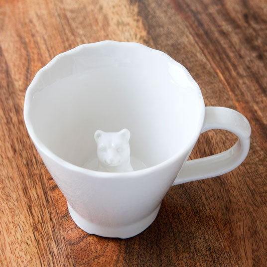 Hidden Animal Cup - Bear Cup