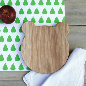 Animal Shaped Cutting Board - Bear