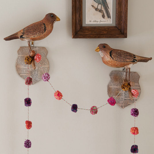 Bird Wall Plaques