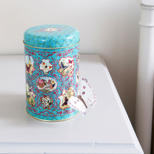 Storage Tins - Butterfly Design