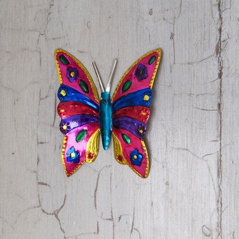Butterfly wall decoration